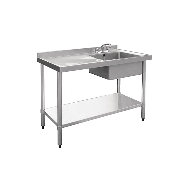 Industrial Stainless Steel Sink