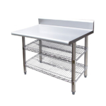 Commercial Stainless Steel Benches