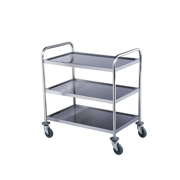 Stainless Steel Medical Instrument Trolley